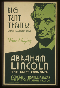 Big Tent Theatre - Now Playing - Abraham Lincoln, The Great Commoner Image