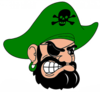 Pirates Cut Green Image