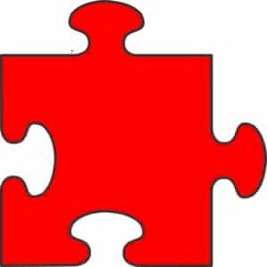 four interlocking puzzle pieces clipart free images at clker com rh clker com free clipart jigsaw puzzle pieces free puzzle piece clip art frame