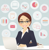 Clipart Administrative Assistant Day Image