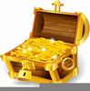 Open Treasure Chest Clipart Image