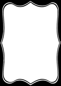 Black Frame Clip Art at Clker.com - vector clip art online, royalty ...