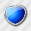 Icon Heart Blue 3 Image