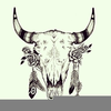 Cow Skull Clipart Free Image