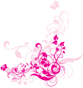 Png Swirl Flowers Design Image