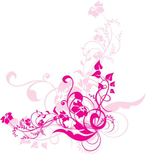Png Swirl Flowers Design Free Images at Clkercom
