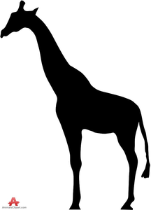Clipart Giraffe Black And White Image