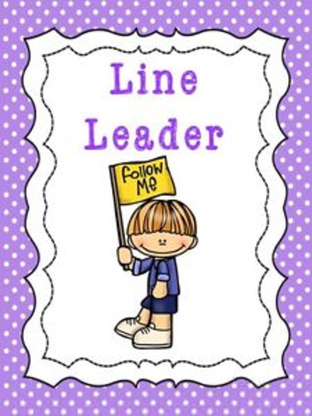 Line Drawing Jobs : Preschool clipart line leader free images at clker
