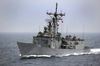 The U.s. Navy Frigate Uss Thach (ffg 43) Image