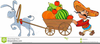 Fruit And Vegetables Clipart Image