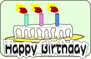 Birthday Cake 3 Clip Art