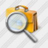 Icon Breafcase Search 3 Image