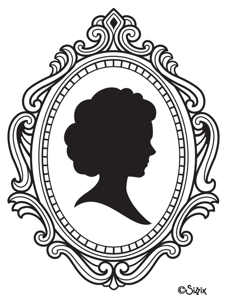 Black Frame Glasses Drawing : Cameo Free Images at Clker.com - vector clip art online ...