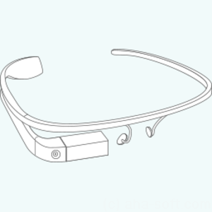 Google Glass Construction Icon Image