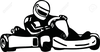 Free Go Kart Racing Clipart Image
