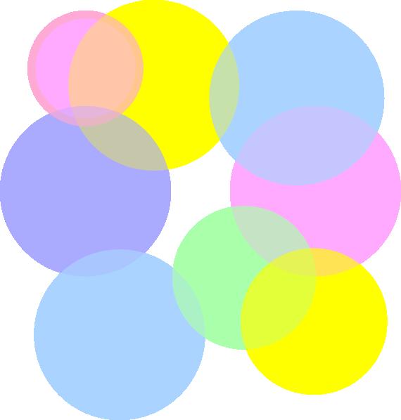 Pastel Colored Bubbles Clip Art at Clker.com - vector clip art online ...