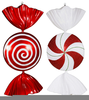 Christmas Peppermint Candy Clipart Image
