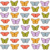 Colorful Butterflies Pattern Gthjkm Image