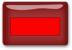 Red Rectangle Blank Button Clip Art