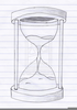 Hourglass Drawing Tumblr Image