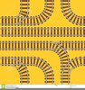 Clipart Trains And Tracks Image