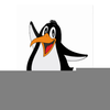 Animated Penguin Clipart Image