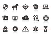 0122 Internet Security Icons Image