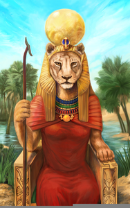 Egyptian God Sekhmet Image