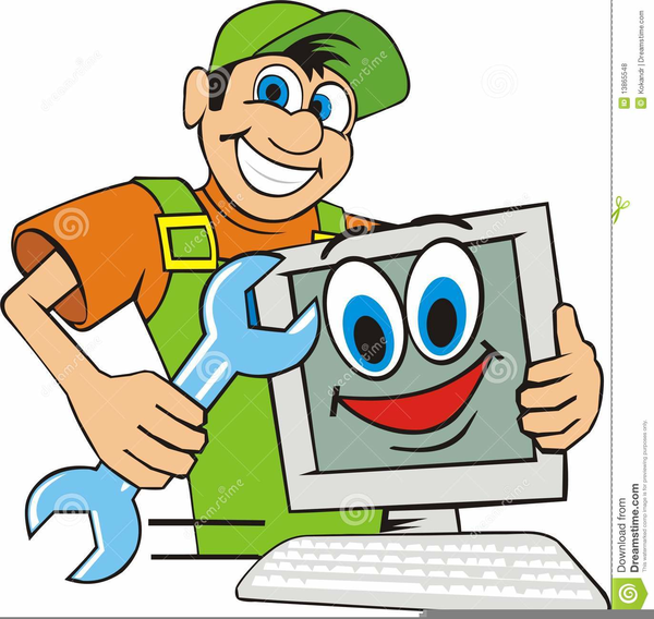 computer repair man clipart free images at clker com vector clip rh clker com
