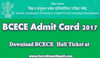 Bcece Admit Card Image