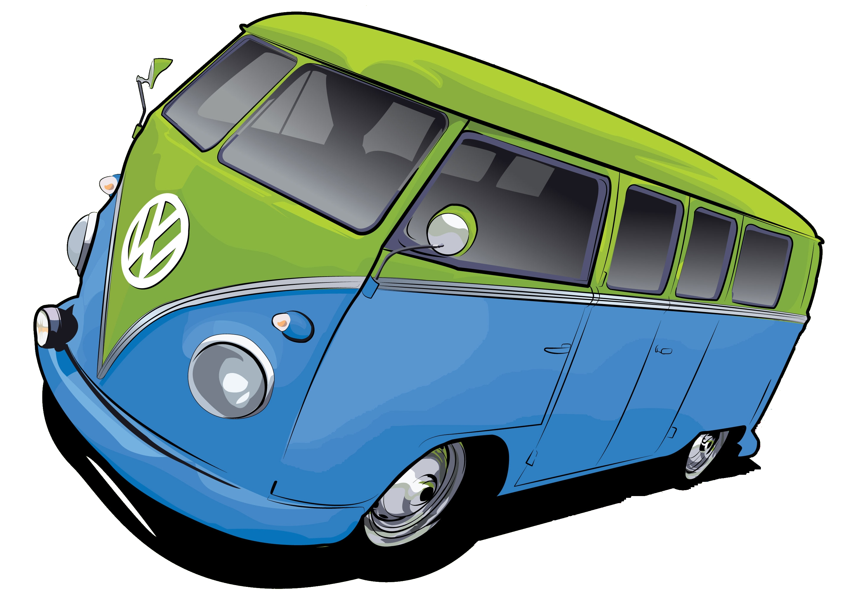 Vw Bus By Stxd S