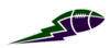 Green Purple Football Lightning Image