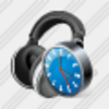 Icon Ear Phone Clock Image