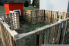 Repurposed Pallet Fence Image