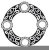 Celtic Circle Vector Image