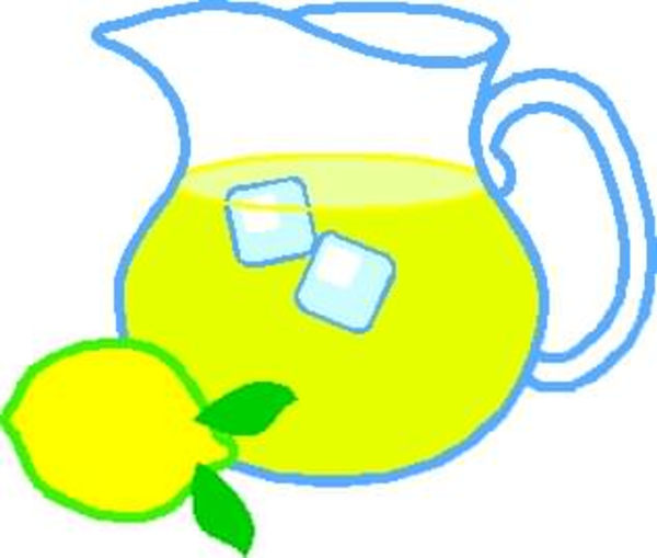 free clipart lemonade pitcher free images at clker com vector rh clker com lemonade clipart black and white lemonade stand clipart free