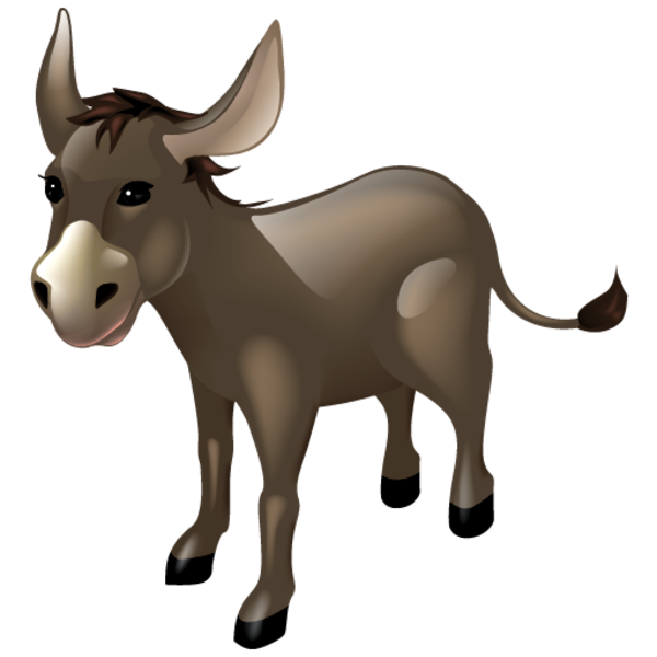 Donkey Free Images At Clker Com Vector Clip Art Online