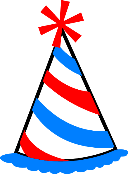 party hat clip art at clker com vector clip art online royalty rh clker com