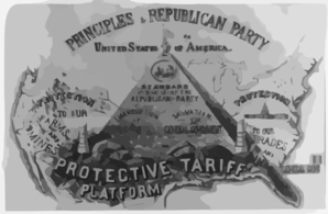 Principles Of The Republican Party Of The United States Of America Clip Art