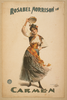 Lady Dancing With Tambourine Image