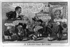 A Lilliputian Auction  / Woodward Del ; Cruikshank St. Image
