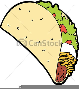 cartoon taco clipart free images at clker com vector clip art rh clker com taco clipart png taco clipart images