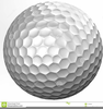 Free Clipart Of Golf Balls Image