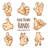 Clipart For Hands Gestures Image