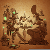 Steampunk Tea Party Image