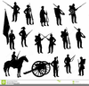 D People From The Revolution American Clipart Image