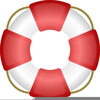 Clipart Of A Lifesaver Image