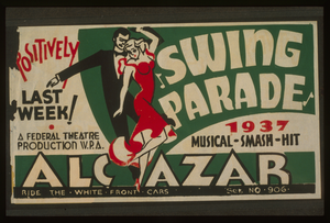 Swing Parade  1937 Musical Smash Hit Positively Last Week! Image