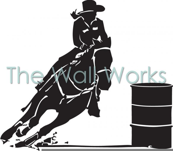 free barrel racing clipart free images at clker com vector clip rh clker com Barrel Racing Horses Barrel Racing Silhouette