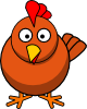 Chicken Cartoon Clip Art